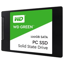 "WD Green WDS120G2G0A 120 GB Solid State Drive - 2.5"" Internal - SATA (SATA/600)"