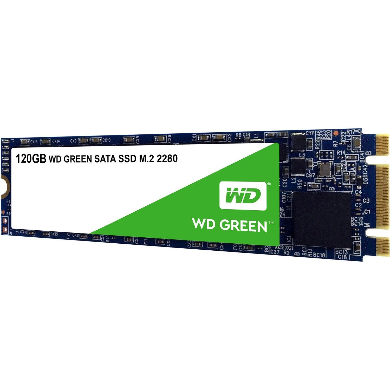 WD Green WDS120G2G0B 120 GB Solid State Drive - SATA (SATA/600) - Internal - M.2 2280