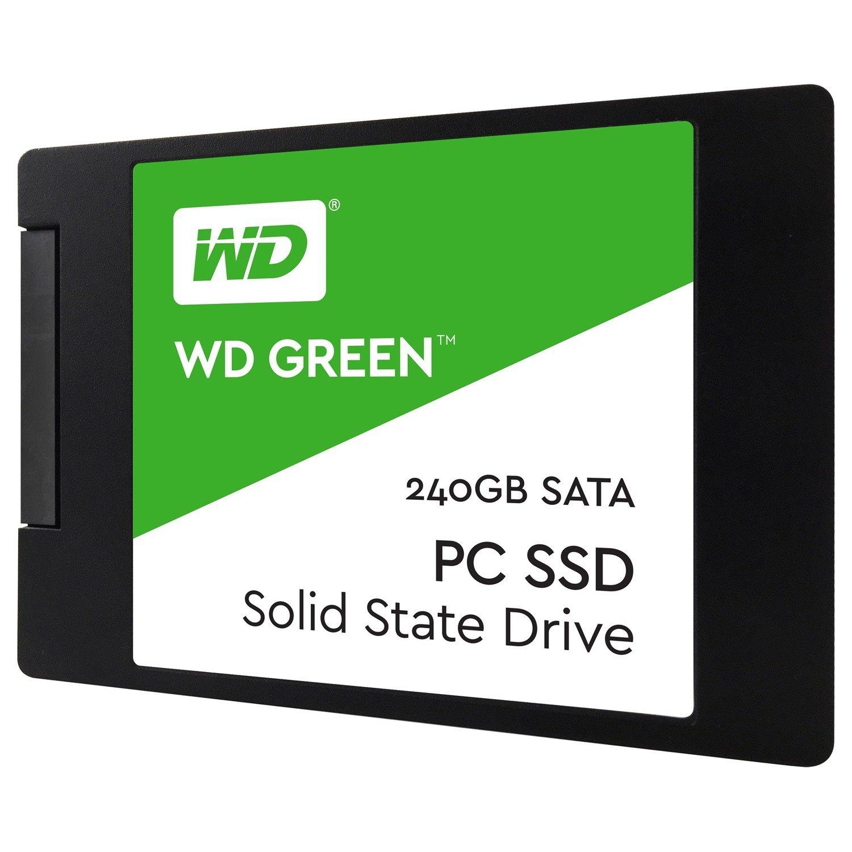 """WD Green WDS240G2G0A 240 GB Solid State Drive - SATA (SATA/600) - 2.5"""" Drive - Internal"""