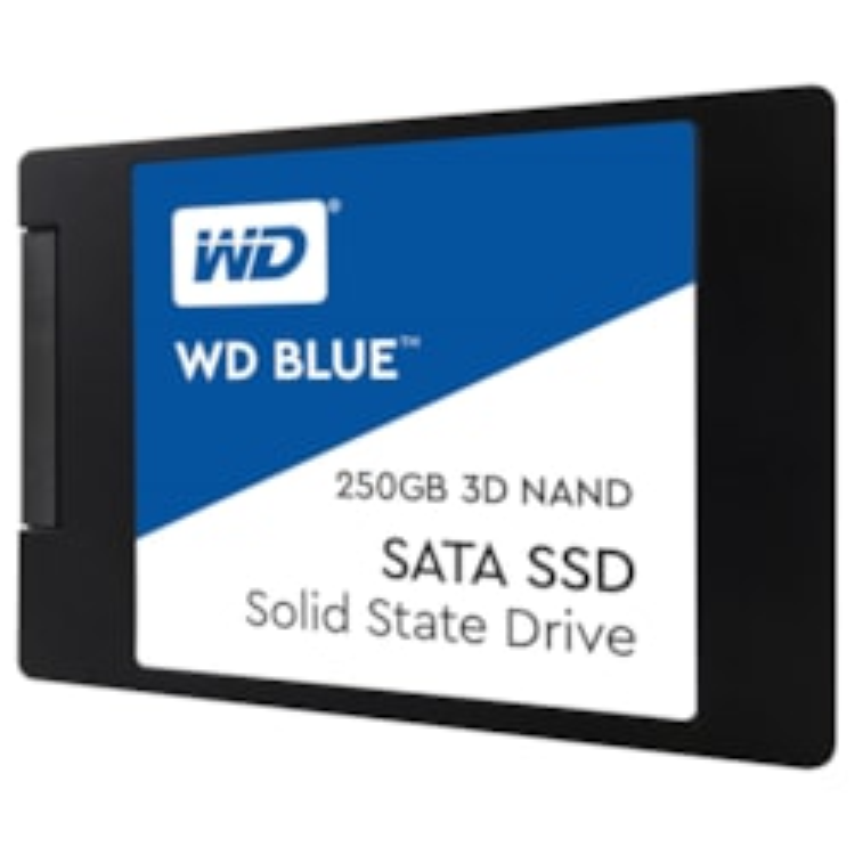 """WD Blue WDS250G2B0A 250 GB Solid State Drive - SATA (SATA/600) - 2.5"""" Drive - Internal"""