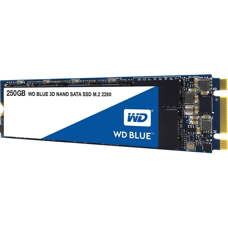 WD Blue WDS250G2B0B 250 GB Solid State Drive - SATA (SATA/600) - Internal - M.2 2280