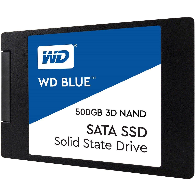"""WD Blue WDS500G2B0A 500 GB Solid State Drive - SATA (SATA/600) - 2.5"""" Drive - Internal"""