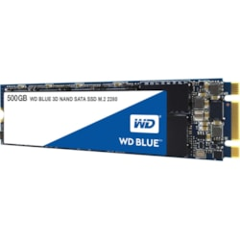 WD Blue WDS500G2B0B 500 GB Solid State Drive - SATA (SATA/600) - Internal - M.2 2280