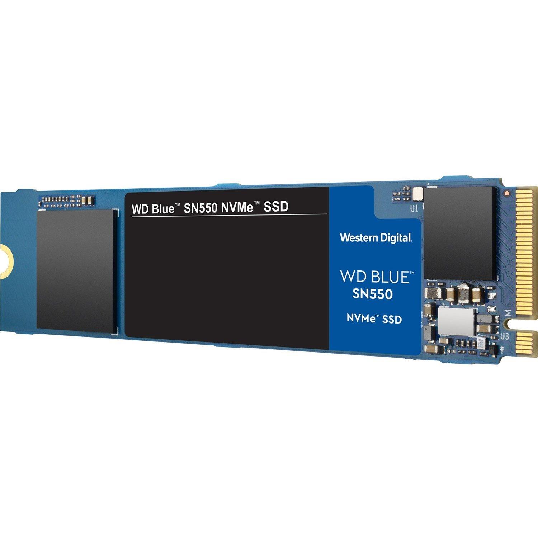 WD Blue SN550 WDS500G2B0C 500 GB Solid State Drive - M.2 2280 Internal - PCI Express (PCI Express 3.0 x4)