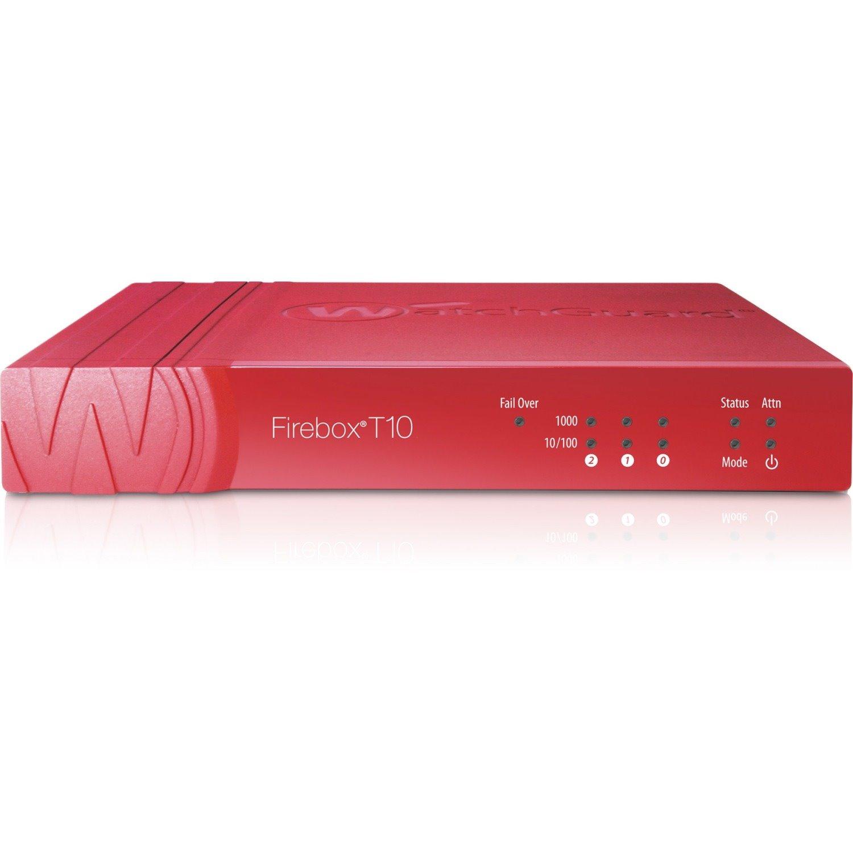 WatchGuard Firebox T10 Network Security/Firewall Appliance