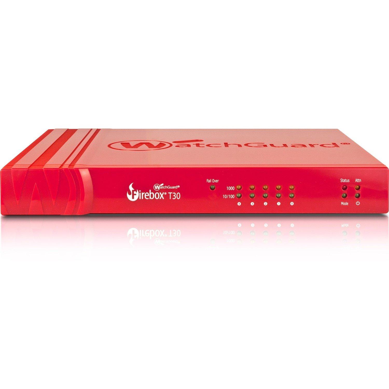 WatchGuard Firebox T30 Network Security/Firewall Appliance