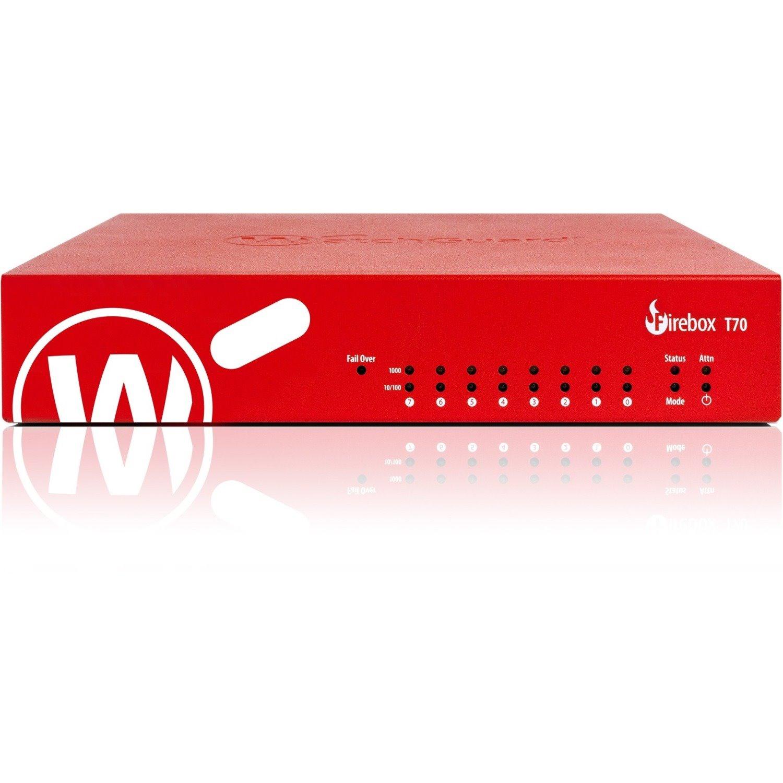 WatchGuard Firebox T70 Network Security/Firewall Appliance