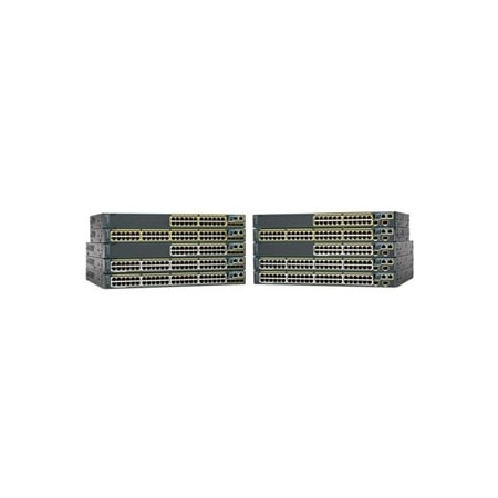 Cisco Catalyst 2960S-48TD-L 48 Ports Manageable Ethernet Switch