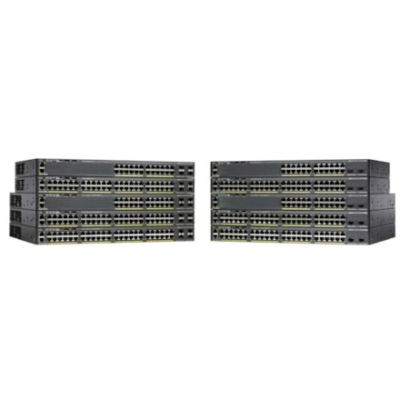 Cisco Catalyst 2960X-24TS-L 24 Ports Manageable Ethernet Switch