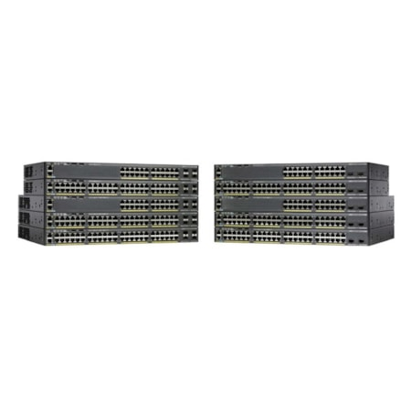Cisco Catalyst 2960X-24TS-LL 24 Ports Manageable Ethernet Switch