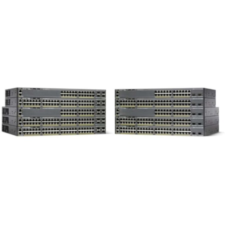 Cisco Catalyst 2960X-48FPS-L 48 Ports Manageable Ethernet Switch