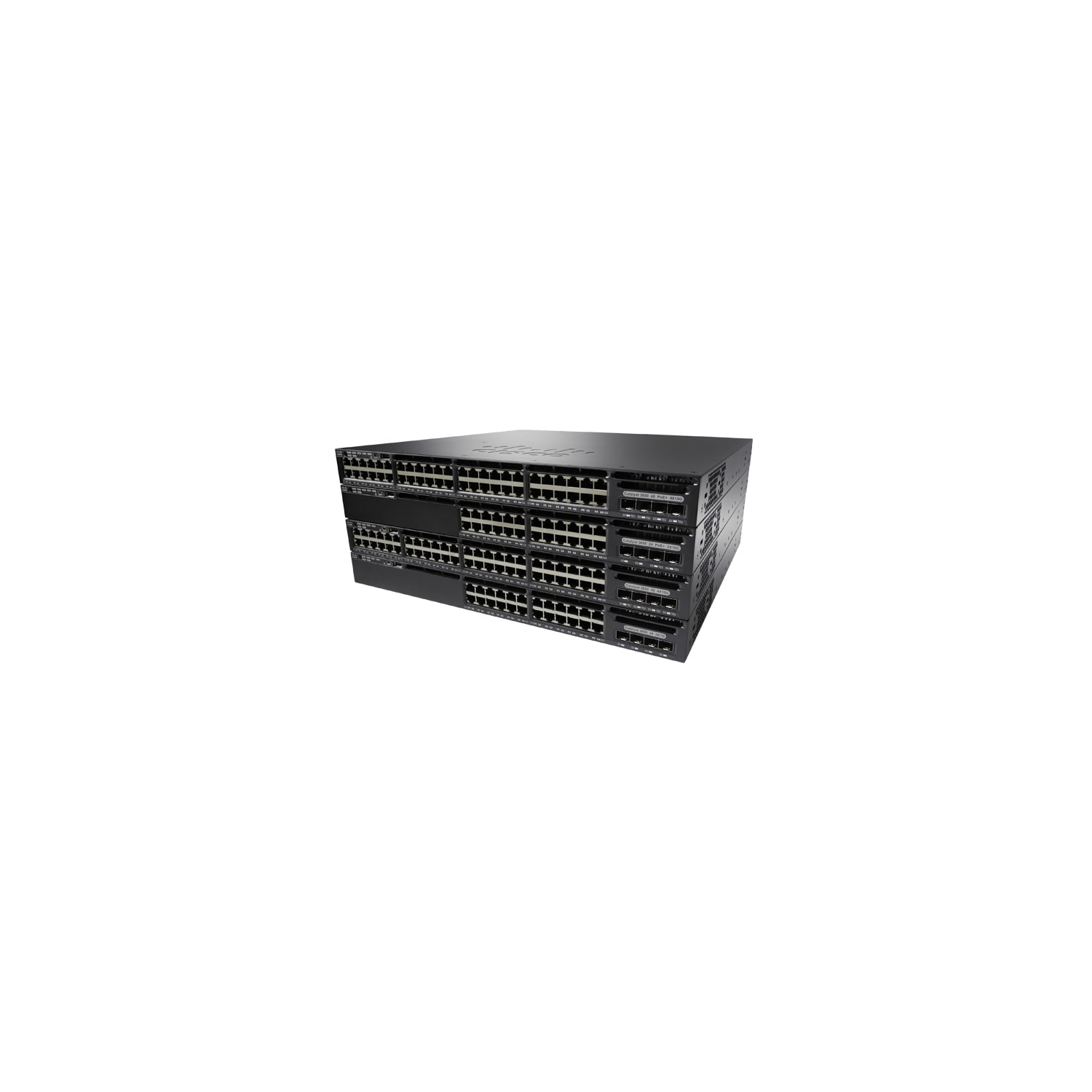 Cisco Catalyst 3650-48P 48 Ports Manageable Layer 3 Switch