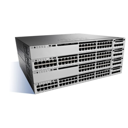 Cisco Catalyst WS-C3850-48P-E 48 Ports Manageable Ethernet Switch