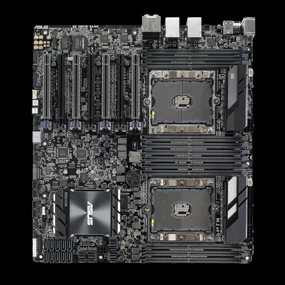 Asus WS C621E SAGE Workstation Motherboard - Intel Chipset - Socket P LGA-3647