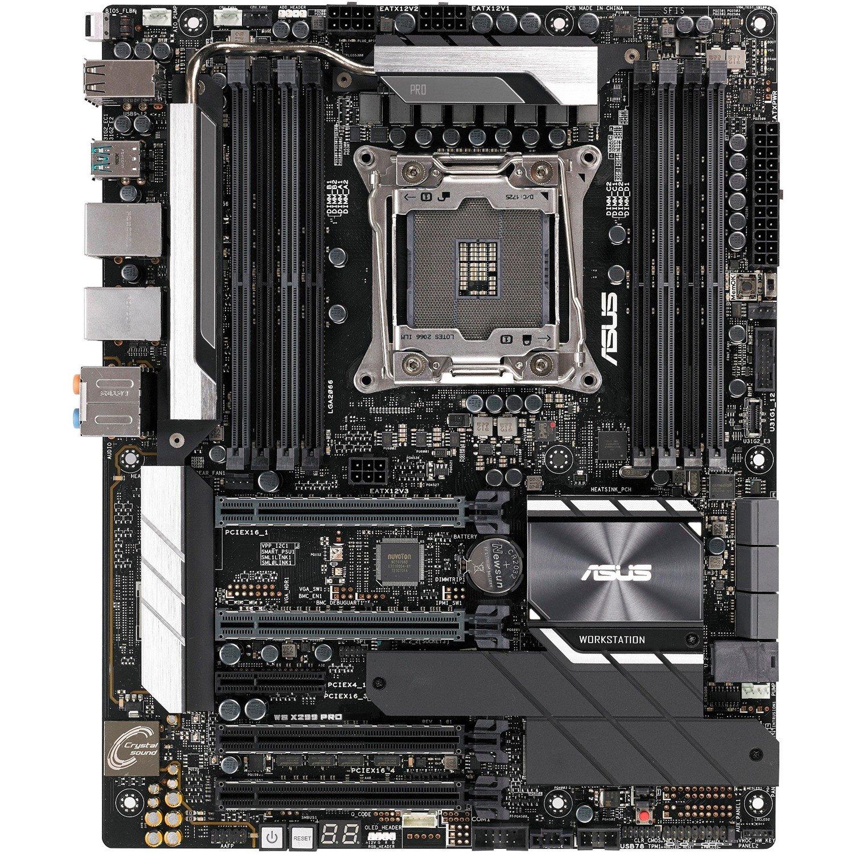 Asus WS X299 PRO/SE Workstation Motherboard - Intel Chipset - Socket R4 LGA-2066