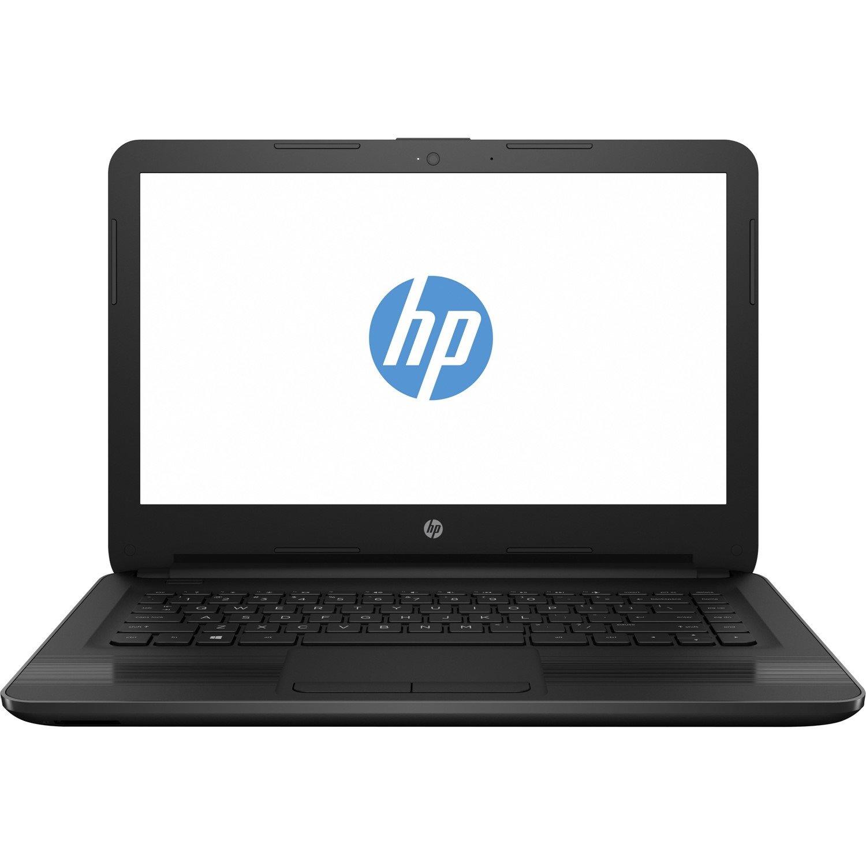 """HP 14-an000 14-an006au 35.6 cm (14"""") LCD Notebook - AMD E-Series E2-7110 Quad-core (4 Core) 1.80 GHz - 4 GB DDR3L SDRAM - 500 GB HDD - Windows 10 - 1366 x 768 - Black"""