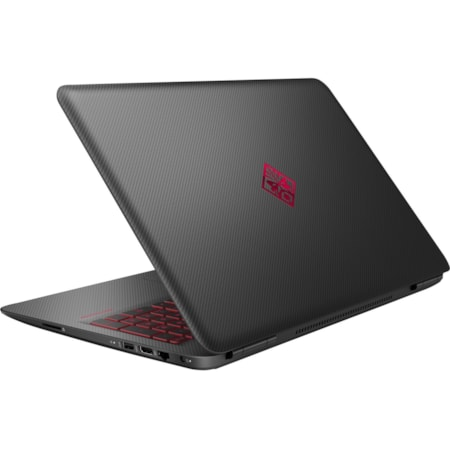 "HP OMEN 15-ax000 15-ax008tx 39.6 cm (15.6"") LCD Gaming Notebook - Intel Core i7 (6th Gen) i7-6700HQ Quad-core (4 Core) 2.60 GHz - 8 GB DDR4 SDRAM - 256 GB SSD - Windows 10 Home 64-bit - 1920 x 1080 - In-plane Switching (IPS) Technology - Twinkle Black with Shadow Mesh Pattern"