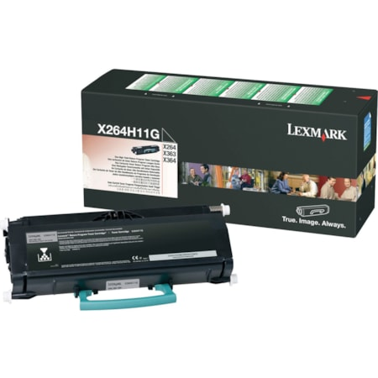 Lexmark X264H11G Toner Cartridge - Black