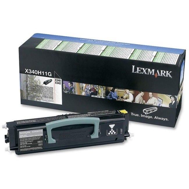 Lexmark X340H11G Original Toner Cartridge - Black