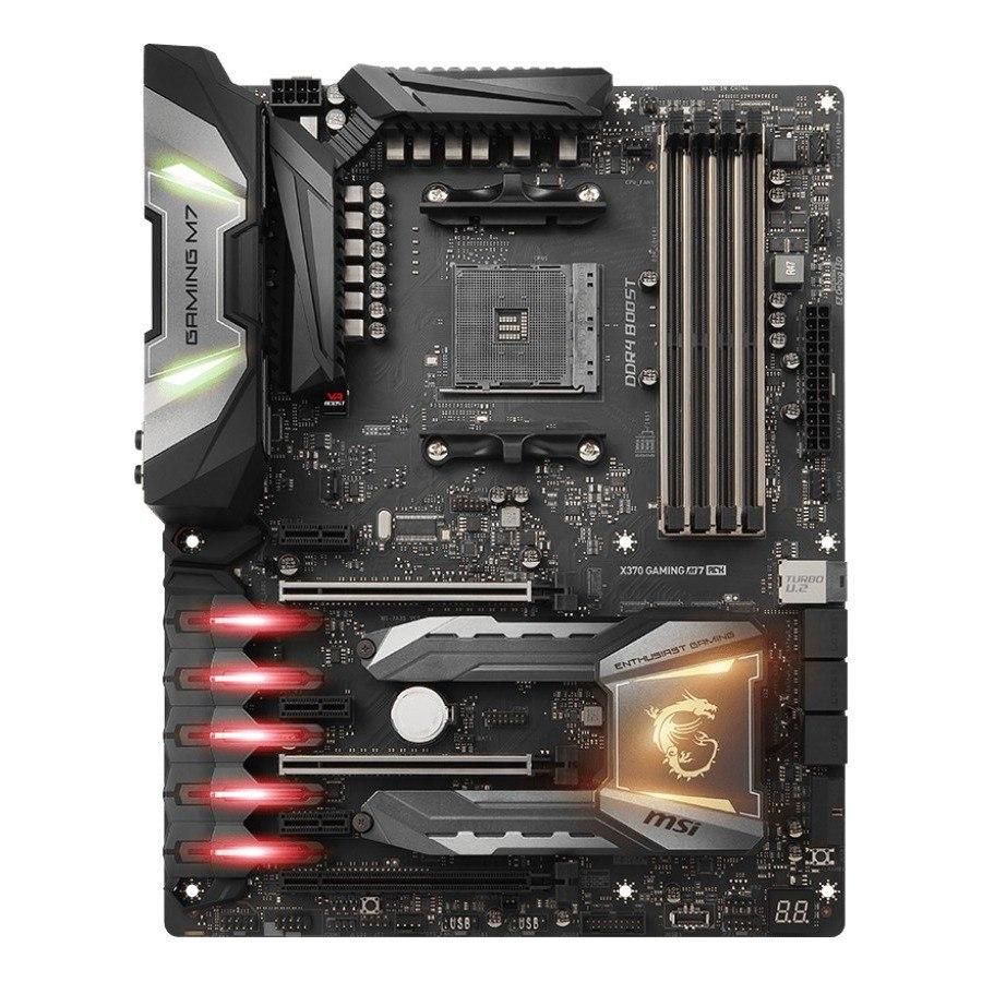 MSI X370 GAMING M7 ACK Desktop Motherboard - AMD Chipset - Socket AM4