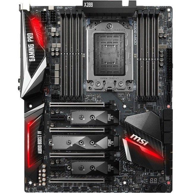 MSI X399 GAMING PRO CARBON AC Desktop Motherboard - AMD Chipset - Socket TR4