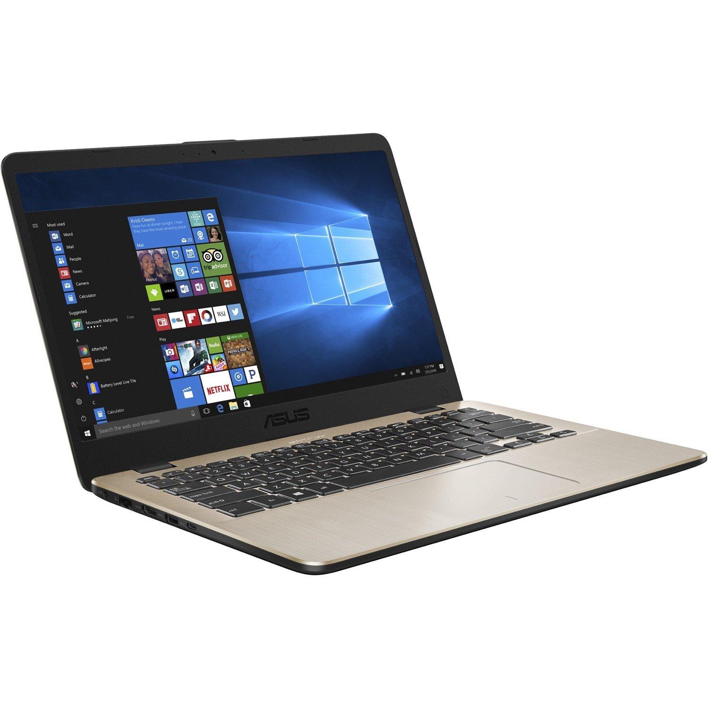 "Asus VivoBook 14 X405UQ-BV335R 35.6 cm (14"") LCD Notebook - Intel Core i5 (7th Gen) i5-7200U Dual-core (2 Core) 2.50 GHz - 8 GB DDR4 SDRAM - 256 GB SSD - Windows 10 Pro - Icicle Gold"