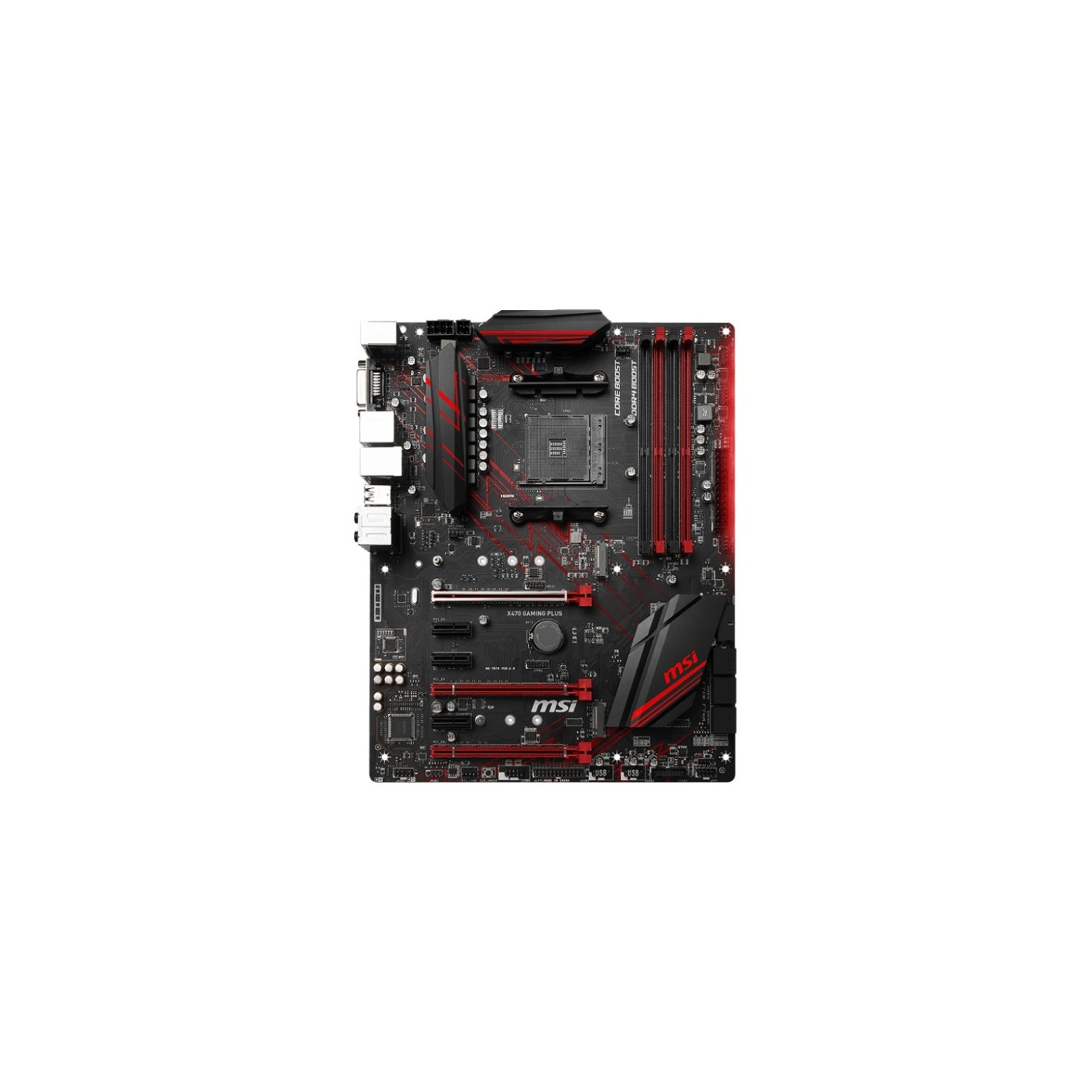 Buy MSI X470 GAMING PLUS Desktop Motherboard - AMD Chipset - Socket