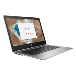 "HP Chromebook 13 G1 33.8 cm (13.3"") Chromebook - Intel Core M (6th Gen) m5-6Y57 Dual-core (2 Core) 1.10 GHz - 4 GB LPDDR3 - 32 GB Flash Memory - Chrome OS 64-bit - 1920 x 1080 - In-plane Switching (IPS) Technology"