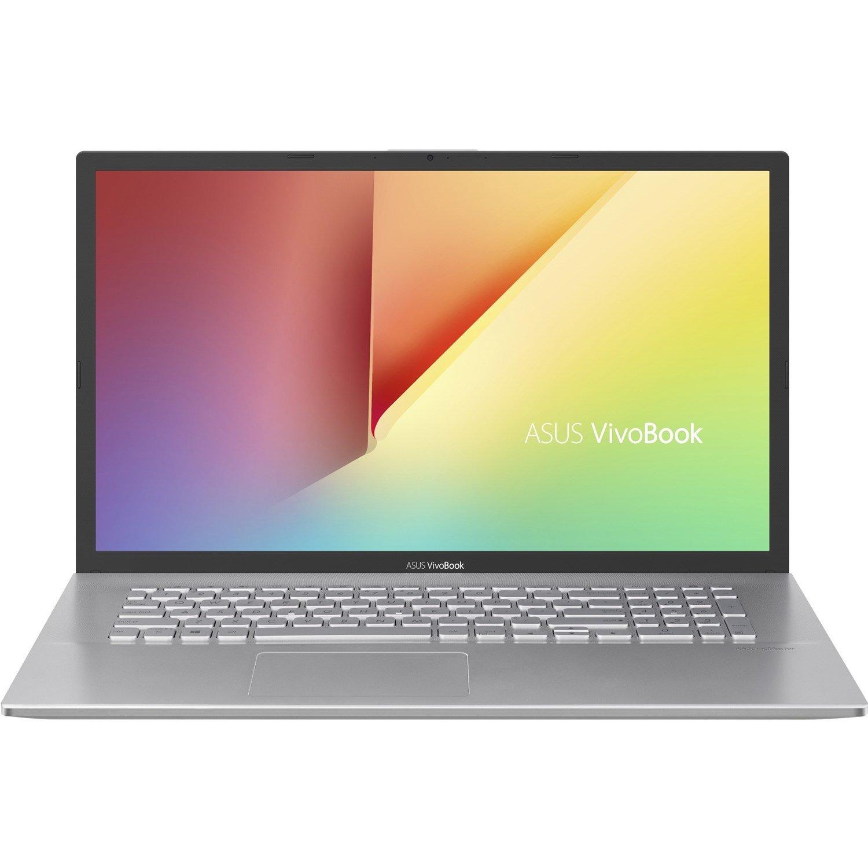 "Asus VivoBook 17 X712FA-AU643T 43.9 cm (17.3"") Notebook - 1920 x 1080 - Core i7 i7-10510U - 16 GB RAM - 1 TB HDD - 512 GB SSD - Transparent Silver"
