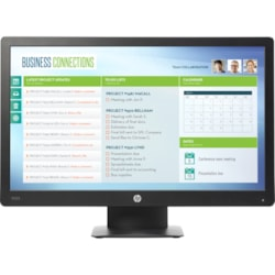 """HP Business P223 54.6 cm (21.5"""") WLED LCD Monitor - 16:9 - 5 ms"""
