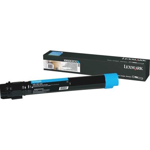Lexmark X950X2CG Original Toner Cartridge - Cyan