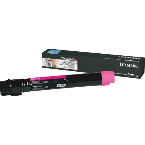 Lexmark X950X2MG Original Toner Cartridge - Magenta