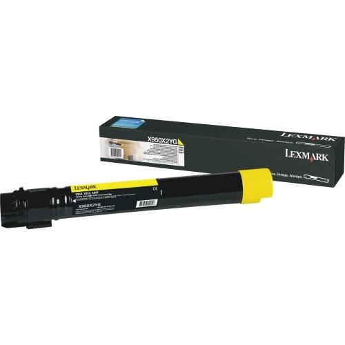 Lexmark X950X2YG Original Toner Cartridge - Yellow