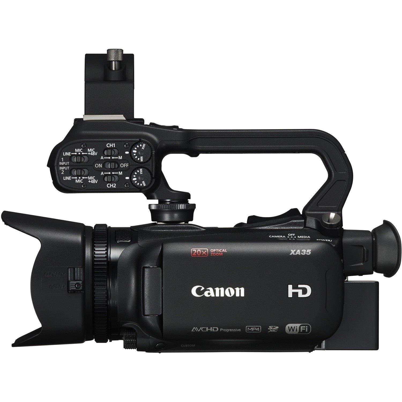 "Canon XA35 Digital Camcorder - 8.9 cm (3.5"") - Touchscreen OLED - CMOS - Full HD"