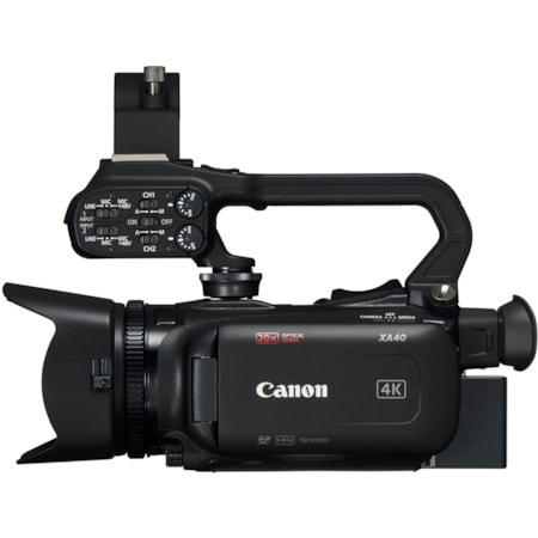 """Canon XA40 Digital Camcorder - 7.6 cm (3"""") - Touchscreen LCD - CMOS - 4K"""