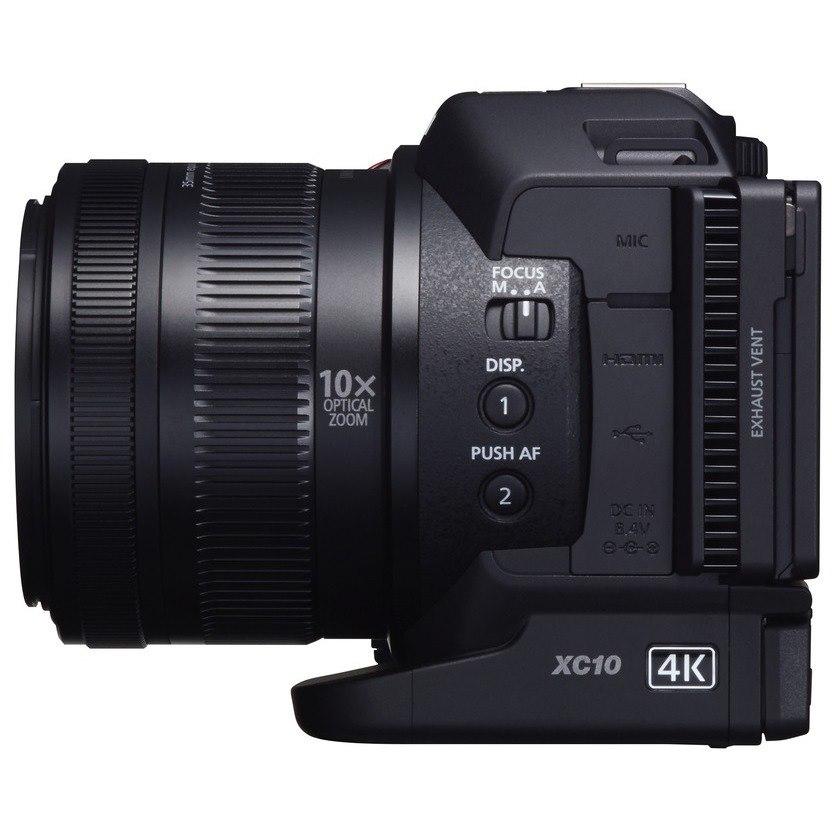 "Canon XC10 Digital Camcorder - 7.6 cm (3"") - Touchscreen LCD - CMOS - 4K"