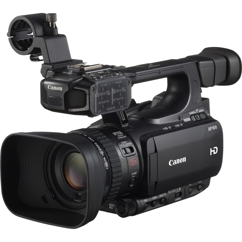 "Canon XF100 3D Digital Camcorder - 8.9 cm (3.5"") LCD - CMOS - Full HD"