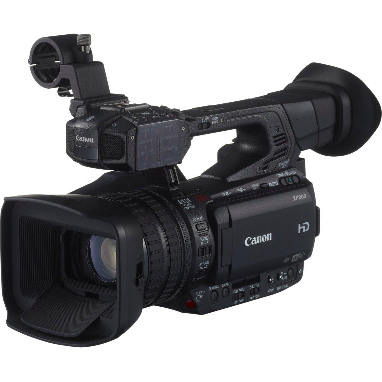 """Canon XF200 Digital Camcorder - 8.9 cm (3.5"""") OLED - HD CMOS - Full HD"""