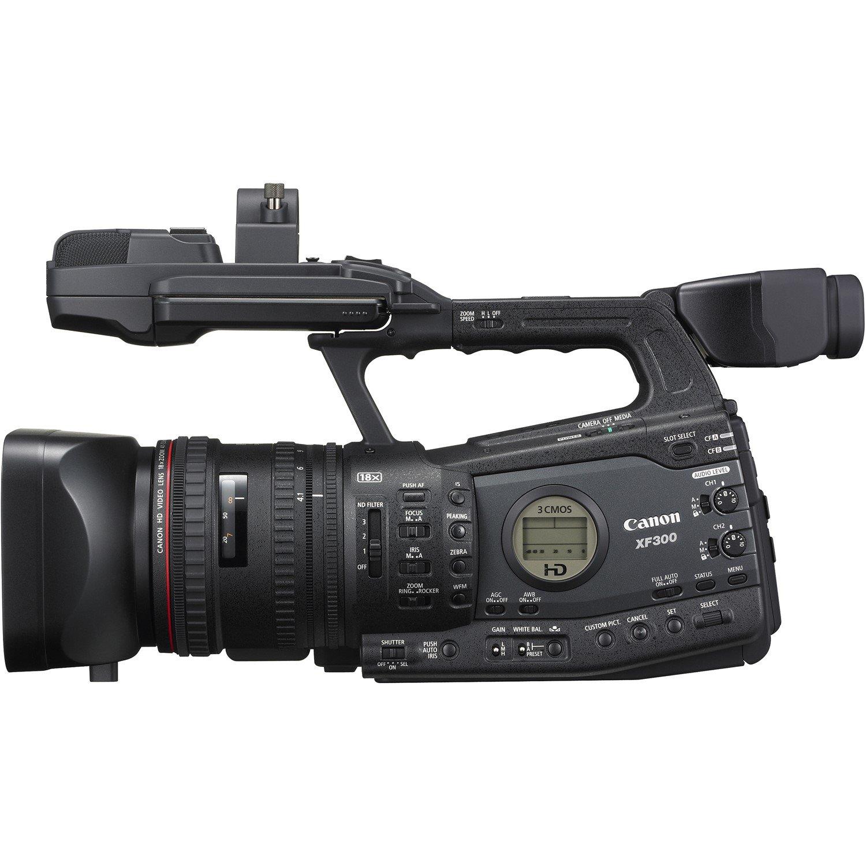 "Canon XF300 Digital Camcorder - 10.2 cm (4"") LCD - CMOS - Full HD"