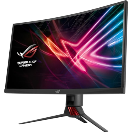 "Asus ROG Strix XG27VQ 68.6 cm (27"") Full HD Curved Screen LED Gaming LCD Monitor - 16:9 - Dark Grey"
