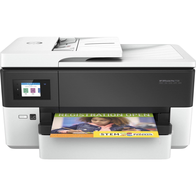 HP Officejet Pro 7720 Inkjet Multifunction Printer - Colour