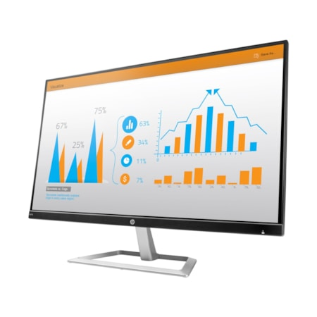 "HP Business N270 68.6 cm (27"") LED LCD Monitor - 16:9 - 5 ms"
