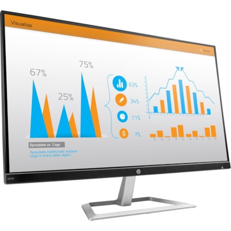 """HP Business N270 68.6 cm (27"""") LED LCD Monitor - 16:9 - 5 ms"""