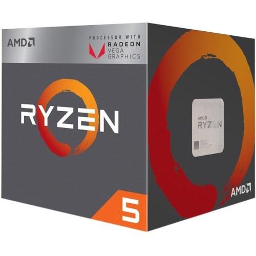 AMD Ryzen 5 2400G Quad-core (4 Core) 3.60 GHz Processor - Socket AM4 - Retail Pack