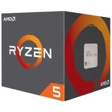 AMD Ryzen 5 2600 Hexa-core (6 Core) 3.40 GHz Processor - Socket AM4 - Retail Pack