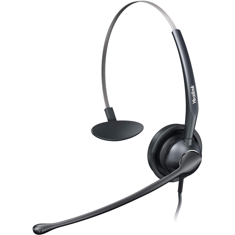 Yealink YHS33 Wired Mono Headset - Over-the-head - Supra-aural