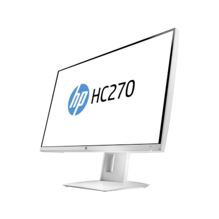 "HP Business HC270 68.6 cm (27"") WQHD WLED LCD Monitor - 16:9 - White"