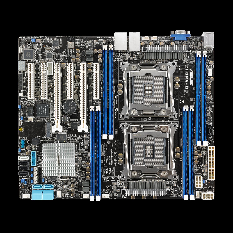 Asus Z10PA-D8 Server Motherboard - Intel Chipset - Socket LGA 2011-v3