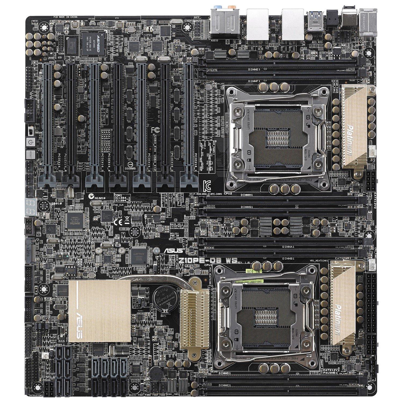 Asus Z10PE-D8 WS Workstation Motherboard - Intel Chipset - Socket LGA 2011-v3