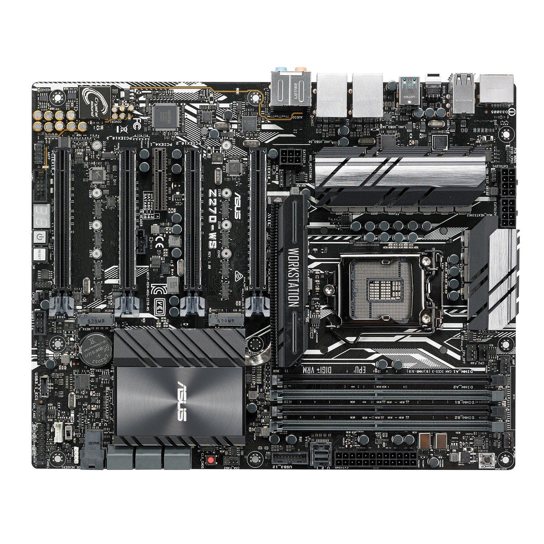 Asus Z270-WS Workstation Motherboard - Intel Chipset - Socket H4 LGA-1151